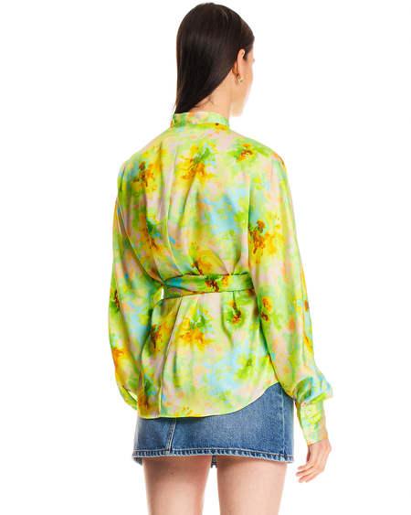 MSGM Floral Fantasia Shirt - Multicolor