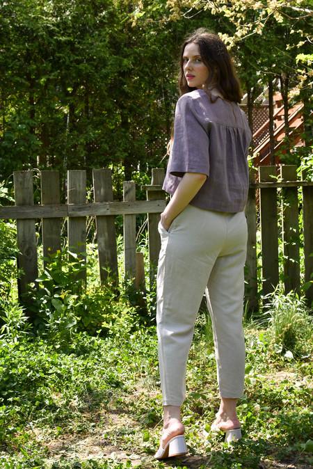 Eve Gravel Sparrow Pants - Argile