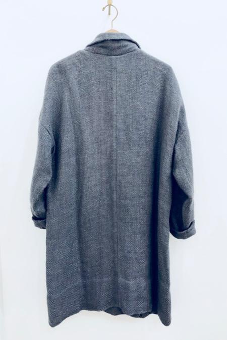 Pero Linen AF01 Jacket - gray