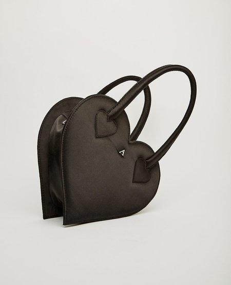 Ashley Williams Heart Handbag - Black