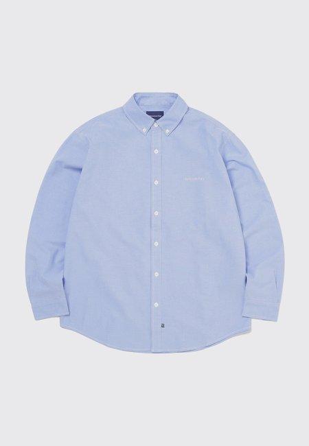 ThisIsNeverThat T-Logo Oxford Shirt - Blue