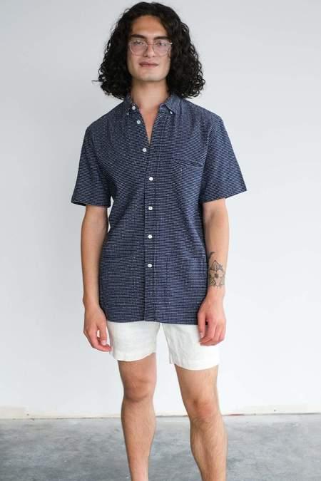 La Paz Castro Shirt - Navy Cactus