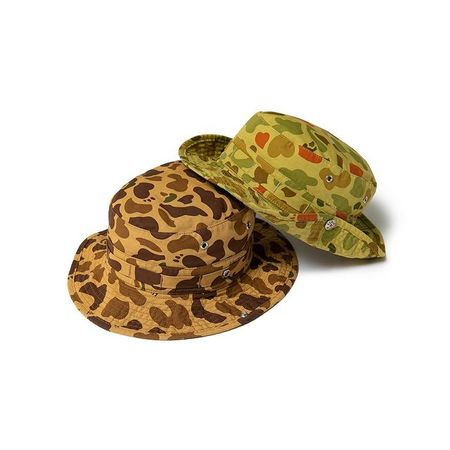 Human Made Duck Camo Bucket Hat - Green