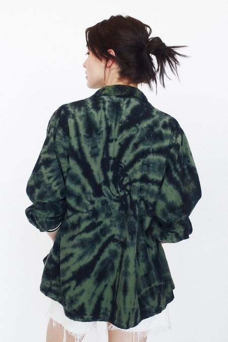 Aquarius Cocktail HOT LIPS jacket - army green