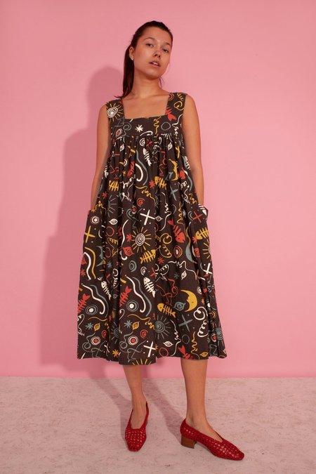 LF Markey Cameron Dress - Clay Print