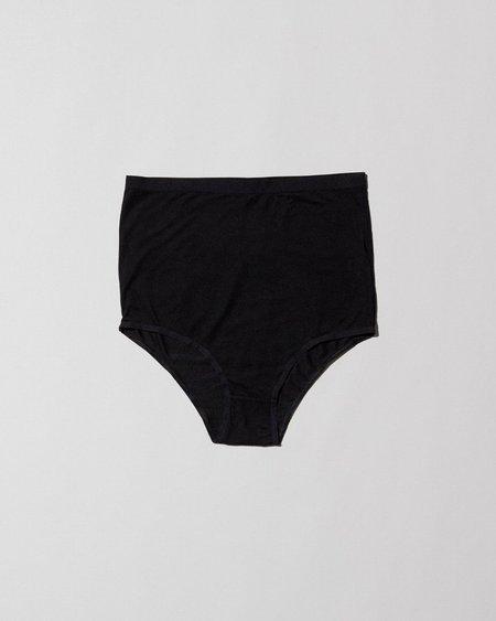Baserange Highwaist Bell Pants - Black