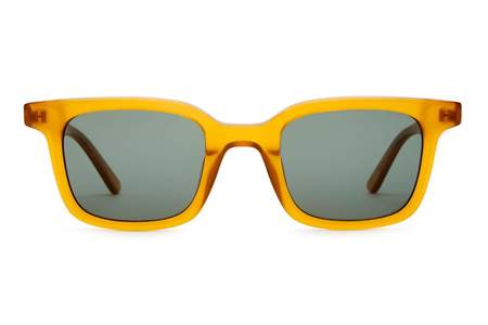 Crap Eyewear  Dropout Boggie Sunglasses - Caramel Bio/Polarized G15
