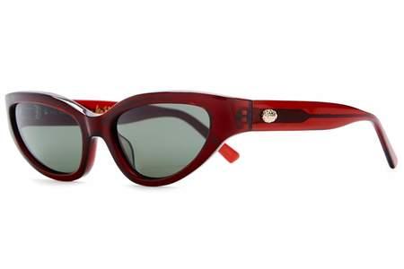 Crap Eyewear Kiss of Dume Sunglasses - Burgundy Bio/G15 Glass