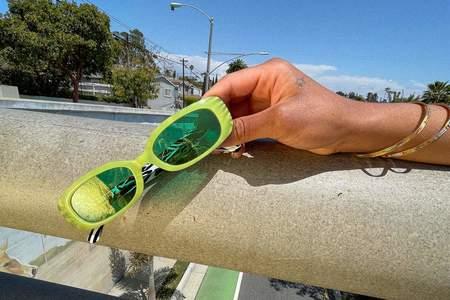 Crap Eyewear Sugar Rush Sunglasses - Margarita Zebra