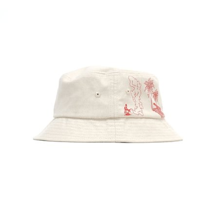 Jungles Paradise Plateau Bucket Hat