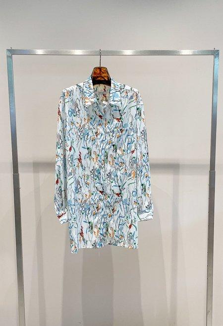 Nicole Kwon Concept Store Splattered Shirt Dress