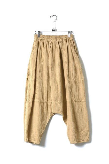 Atelier Delphine Kiko Wrinkled Cotton Pant - Dune