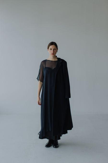 Mina Yena Dress - Ink