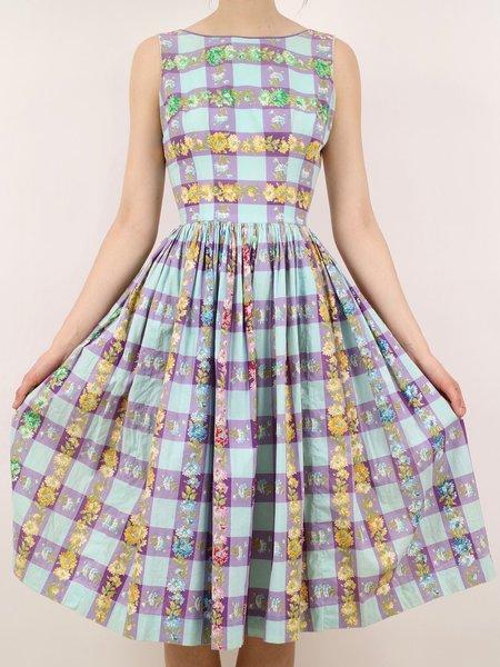 Vintage picnic party dress