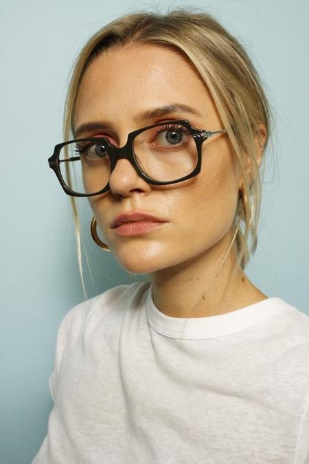Karen Walker Alek Eyeglasses - Olive