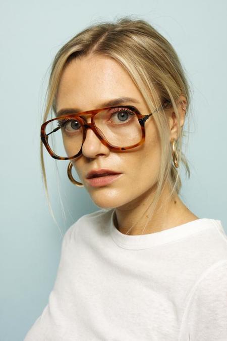 Karen Walker Nettie Eyeglasses - Nutty Tort