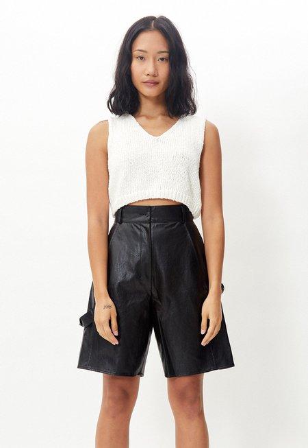 Another Cotton Crop Vest - White