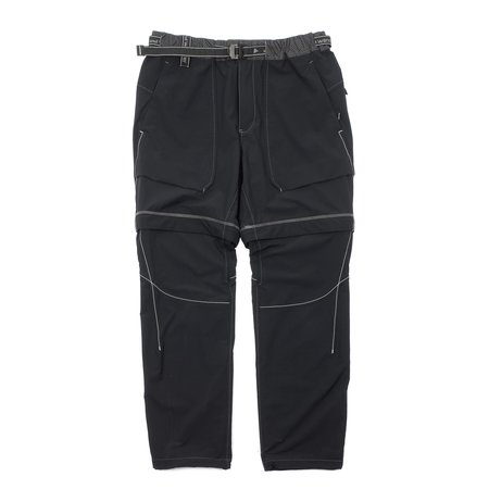 And Wander Schoeller 3xdry Stretch 2way Pants - Black