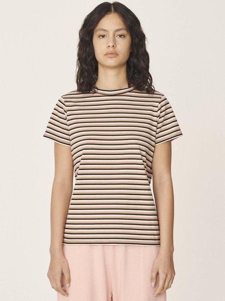YMC Stripe Day T-Shirt - Multi