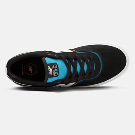 N.B. Numeric 306 Foy Sneakers - Black/Turquoise