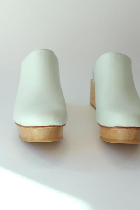 Beklina Matisse Platform Mules - Pastel Swamp