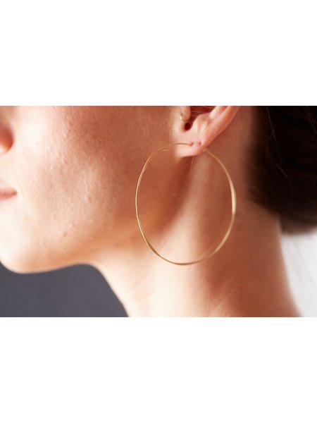 Fail Jewelry Round Hoop Earrings
