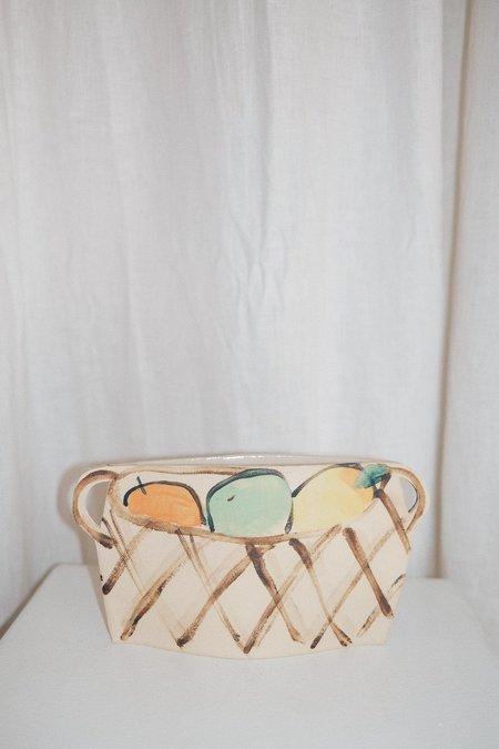 Alison Owen Pastel  Fruit Basket