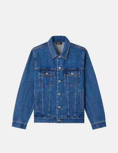 A.P.C. Charles Denim Jacket - Blue