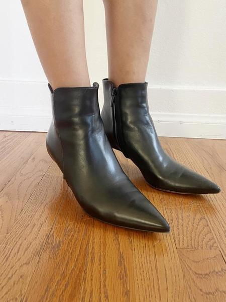 Pre-loved Gianvito Rossi LEVY BOOTIES - black