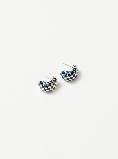 Wolf Circus Nellie Earrings - Silver/Navy