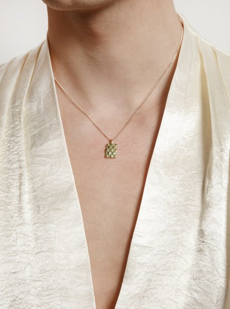 Wolf Circus - Penny Necklace - Green/Gold