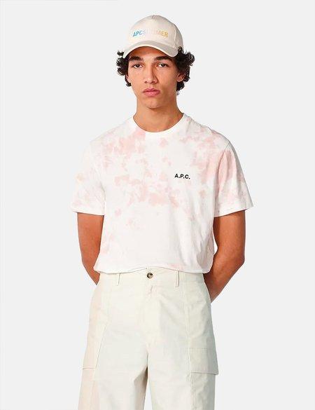 A.P.C. Ali Tie Dye T-Shirt - Pink