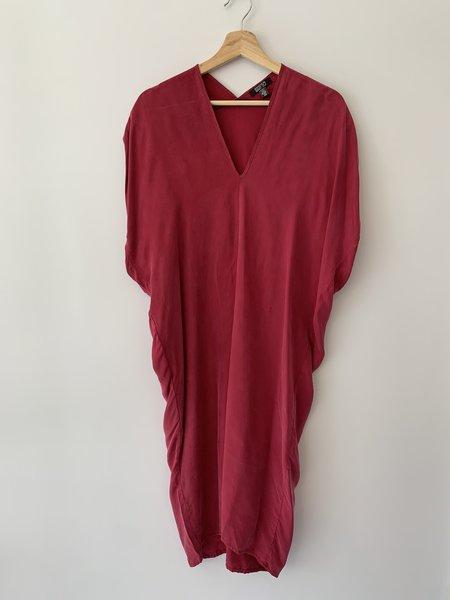 Natalie Busby Cascade Dress - Fuschia