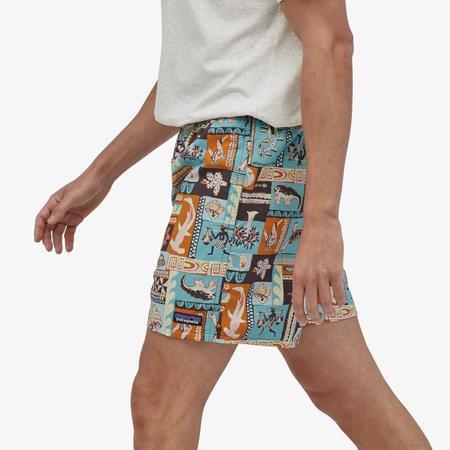 "PATAGONIA Baggies™ 5"" Shorts - Galapagos Archipelagos/Fin Blue"