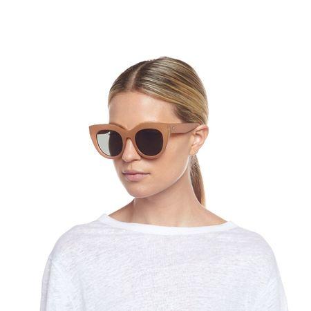 Le Specs Air Heart eyewear - khaki