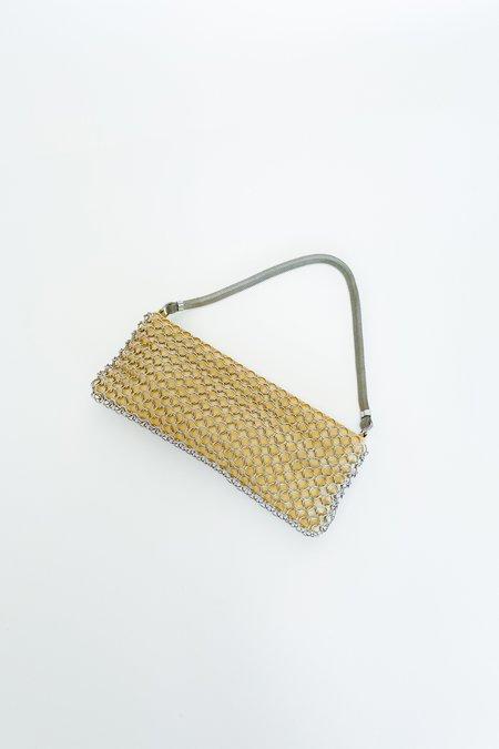 Vintage Chainmail Mini Bag - NATURAL