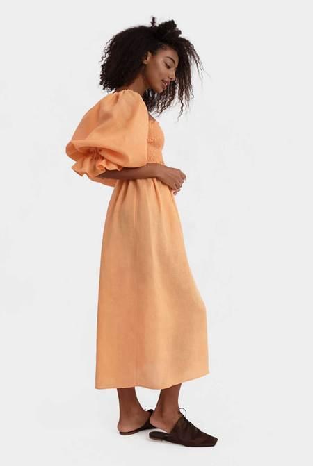 Sleeper Atlanta Linen Dress - Blue Vichy