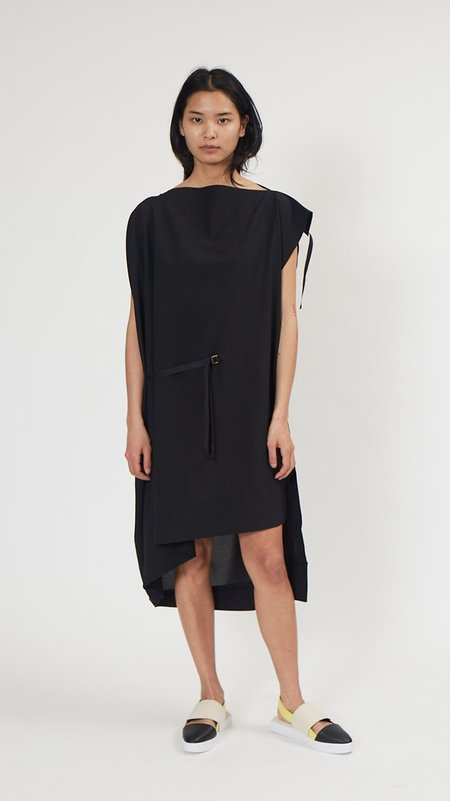 Issey Miyake 132.5 Flat Square Dress - Black