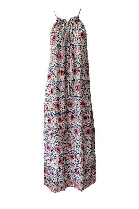 Natalie Martin Marlien Maxi Dress - Vintage Flowers Cream