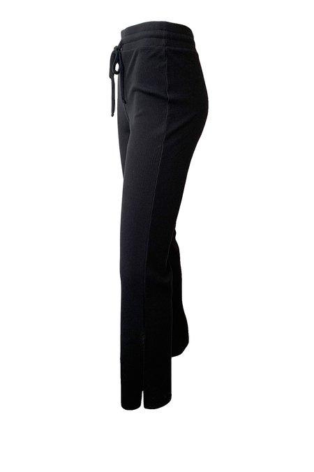 The Range Mass Rib Split Pants - Black