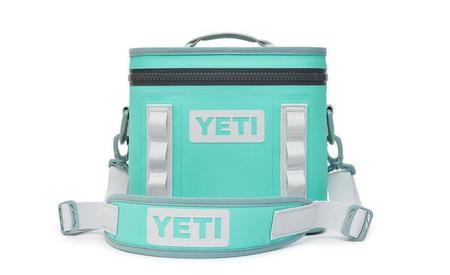 Yeti Hopper Flip 8 Soft Cooler - Aquifer Blue