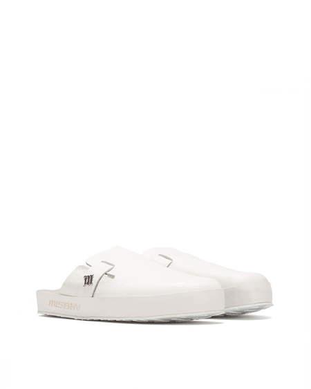 MISBHV logo Slippers - White