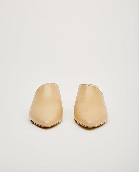 Matisse Candy Block Heel Mule - Natural