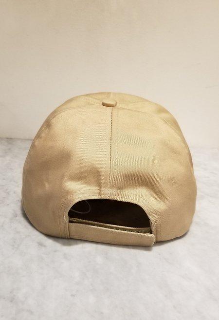Ganni Software Heavy Cotton Baseball Cap - Hazel