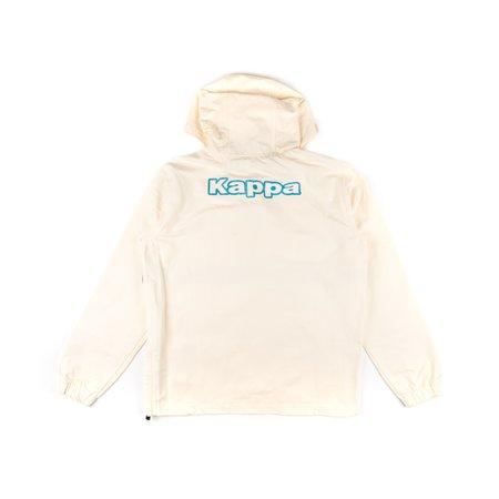 Kappa Logo Tape Cooper Half Zip Jacket - CREAM