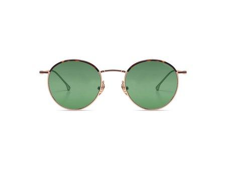 KOMONO Dean Havana Sunglasses - green