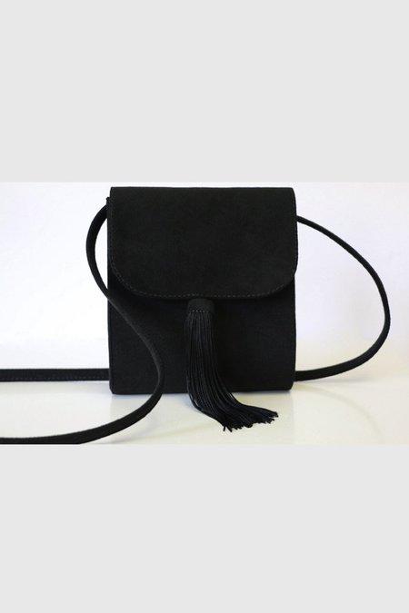 HFS Collective Gigi Tassle Crossbody Bag - Black