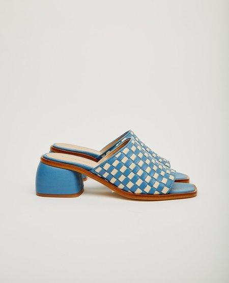 Paloma Wool Chess Sandals - Blue/White