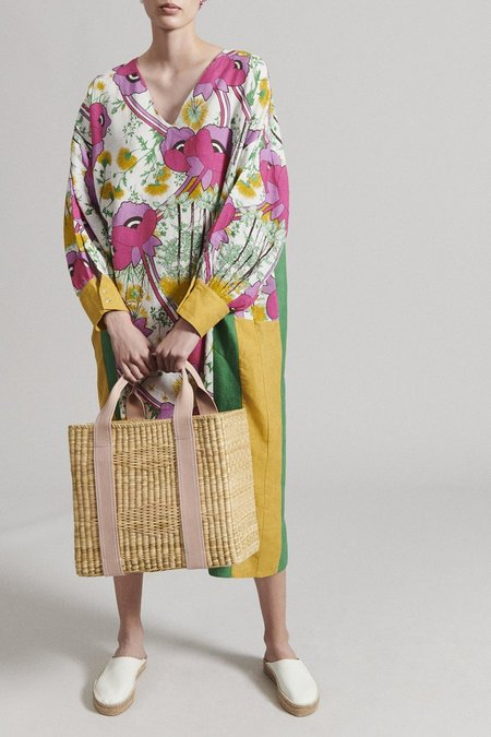 Rachel Comey Maisie Linen Dress - Multi Poppy
