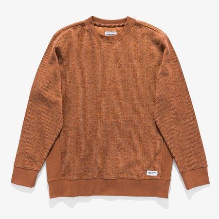 Banks Journal Stroke Deluxe Fleece sweater - Tobacco